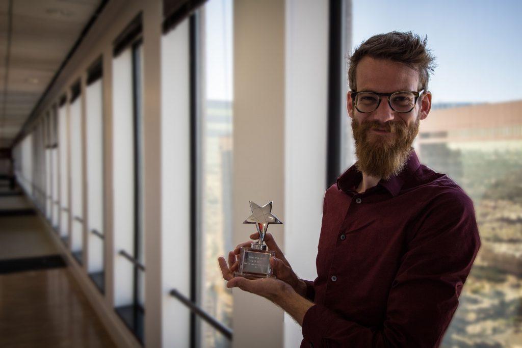 Chris Rising Star Award Sml